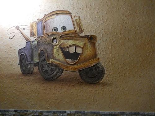 Роспись стен потолка фрески и